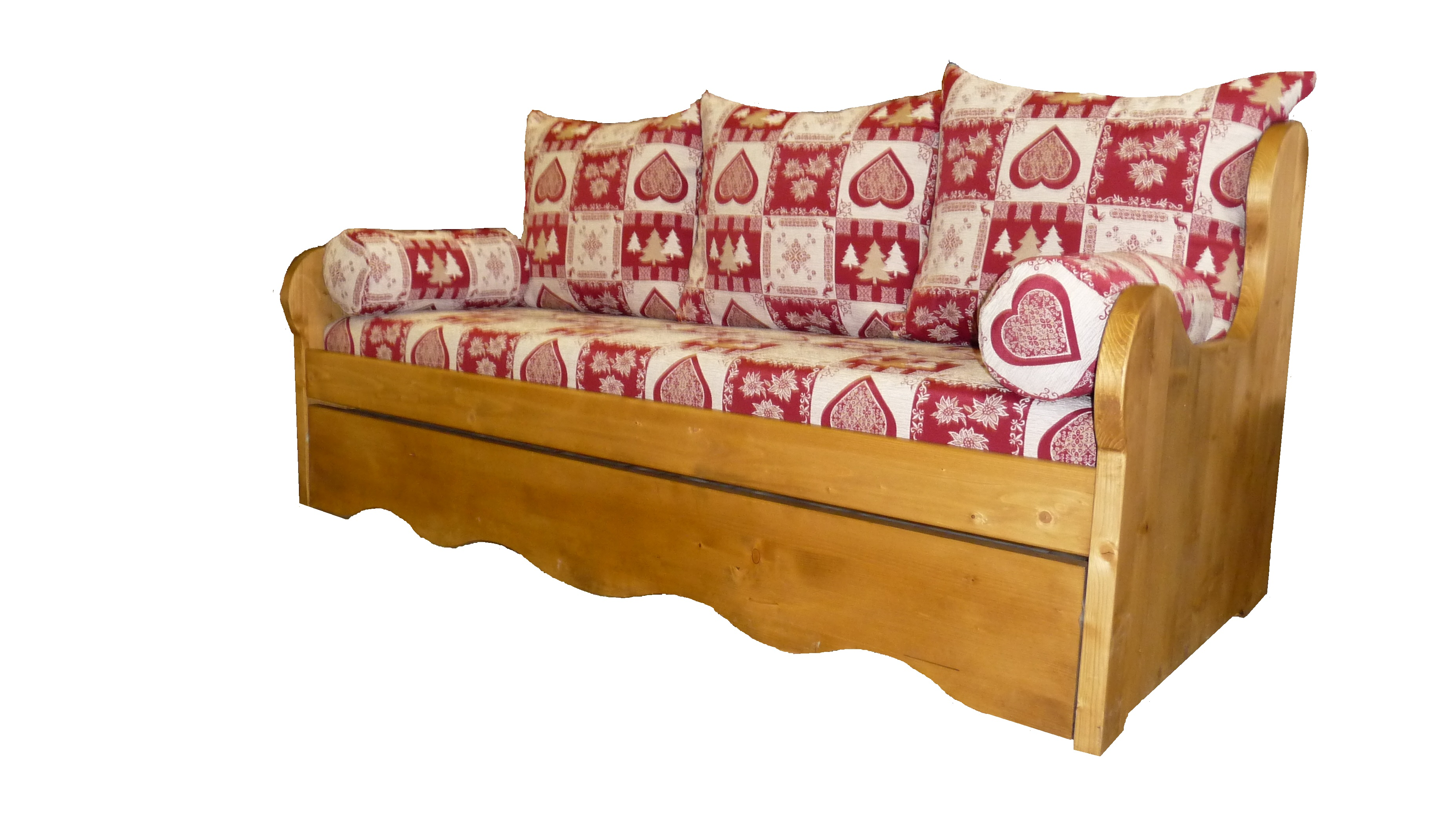 housse couette  banquette gigogne