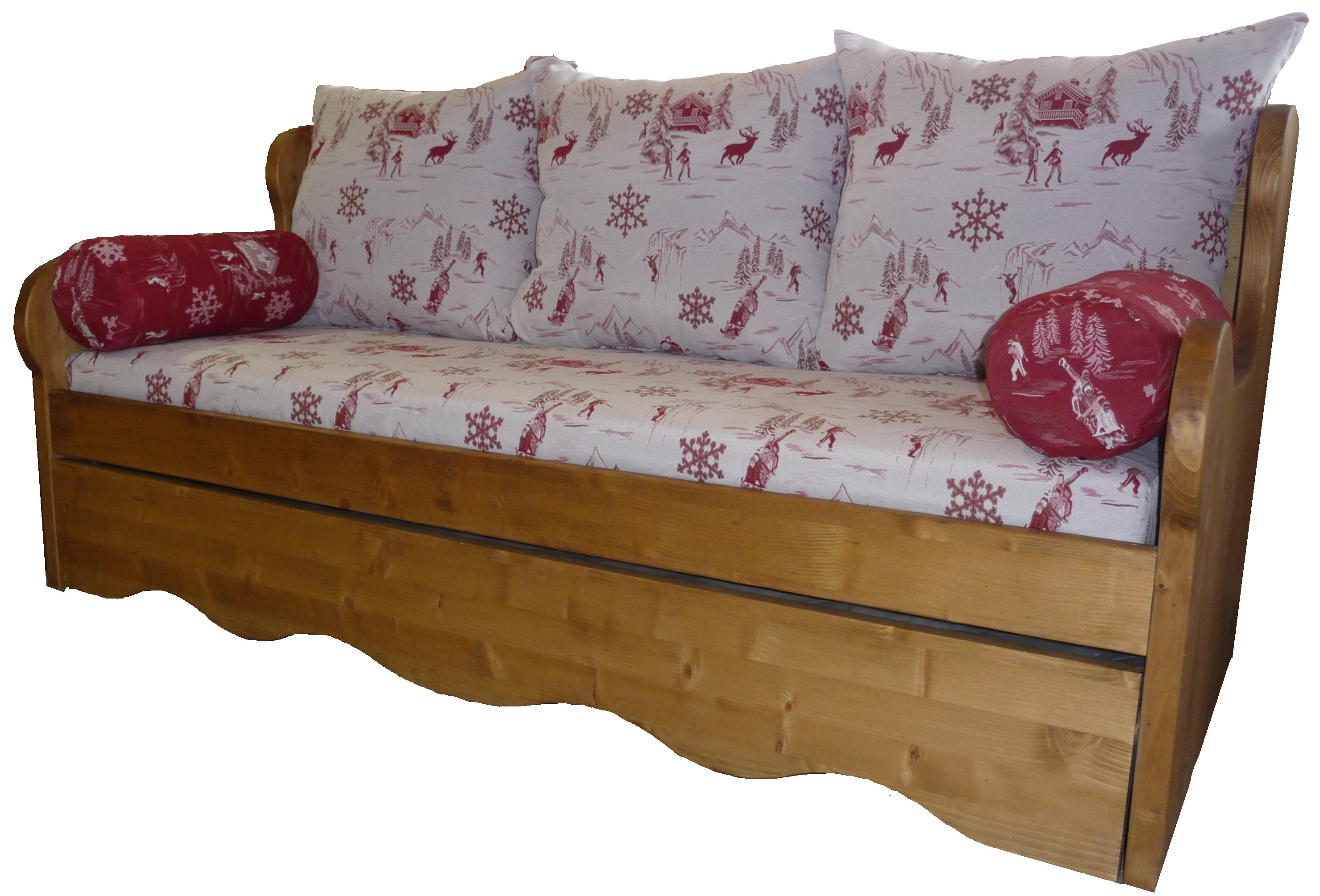 banquette gigogne montagne. Black Bedroom Furniture Sets. Home Design Ideas