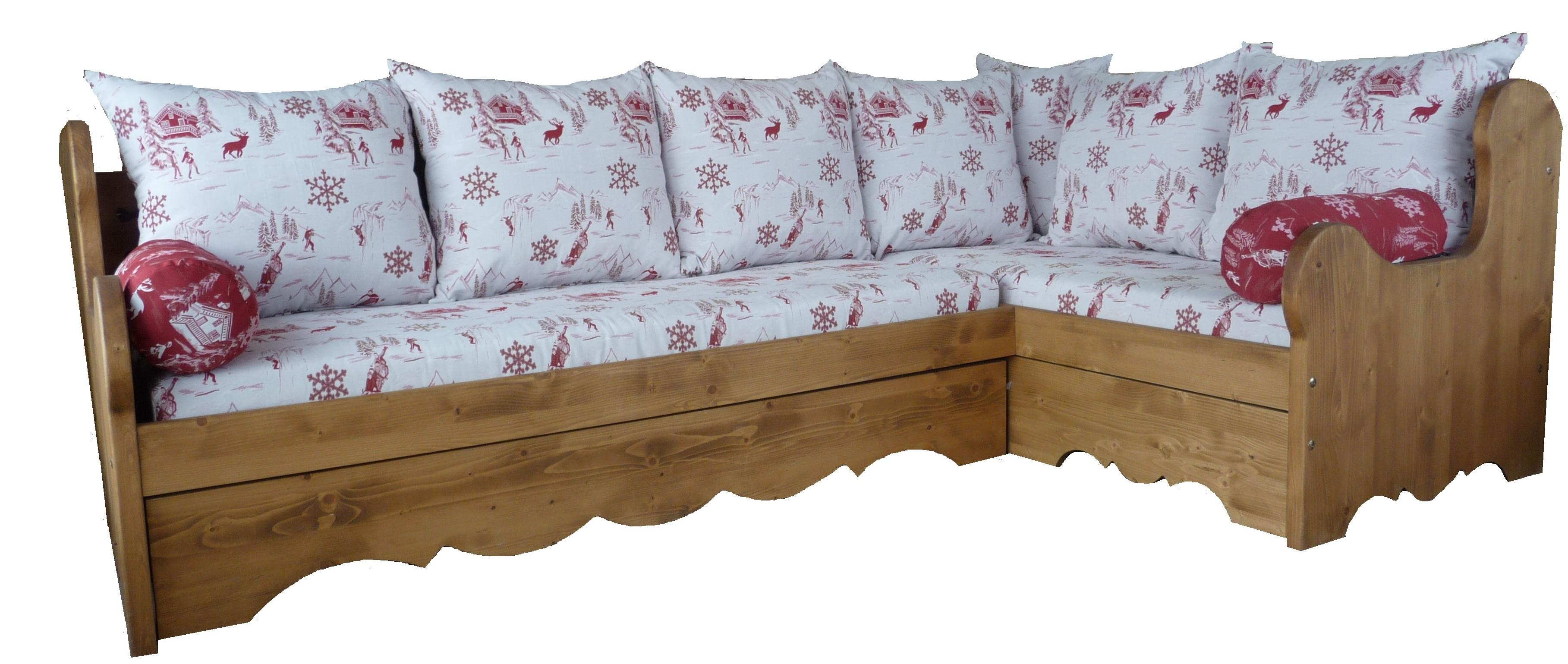 meubles les autanes deco montagne fabrique banquette. Black Bedroom Furniture Sets. Home Design Ideas